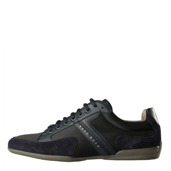 Hugo Boss Green Spacit Trainers in Green