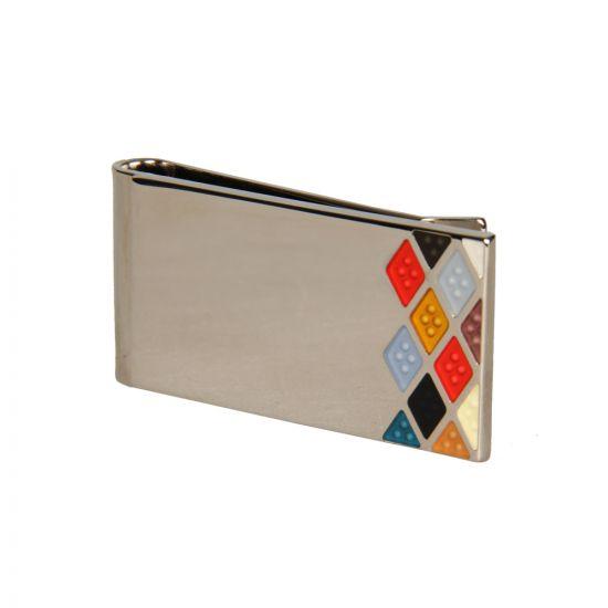 Paul Smith Accessories Silver Money Clip - Multi