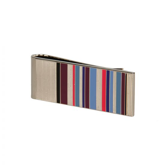 Paul Smith Silver Stripe Money Clip