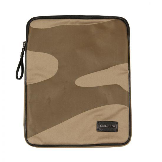 Moncler Porta Tablet Case Green 8659