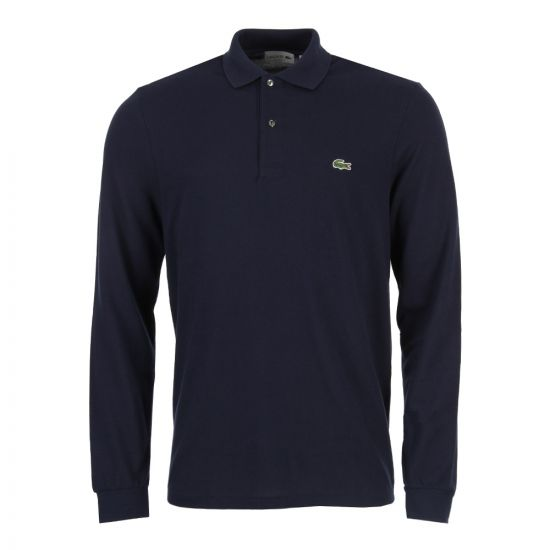 Lacoste Long Sleeve Polo Shirt | L131200 Navy