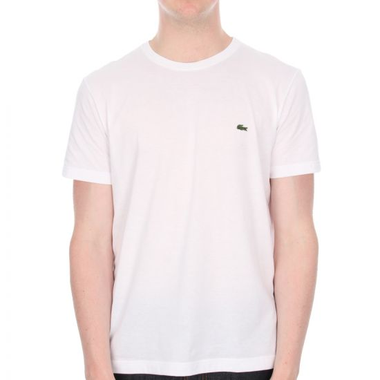 Lacoste Logo Sport T Shirt in White