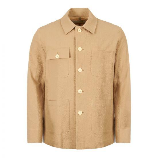 Maison Kitsune Jacket CM02104W W0002 BE In Beige