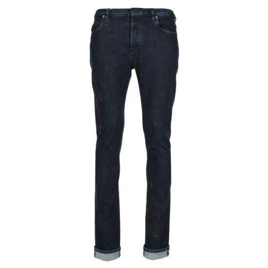 Maison Margiela Jeans S30LA0115 S30533 001S In Raw Denim