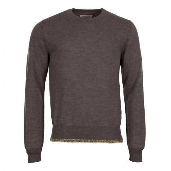 Maison Margiela Hem Detail Sweater S50HA0827 S16401 854M Grey