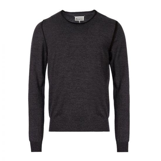 Maison Margiela Knitted Sweater | S50HA0876 S16768 001F Grey