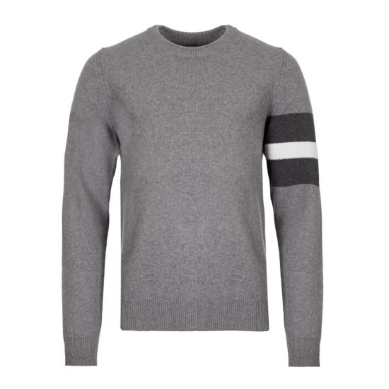 Maison Margiela Knitted Sweater   S50HA0903 S16824 001F Grey