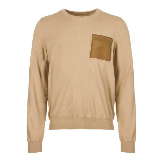 Maison Margiela Sweatshirt Pocket S30HB0100 S16698 106 Beige