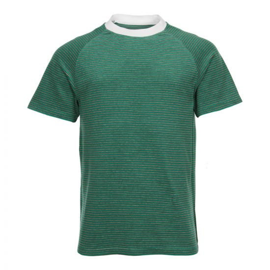 Maison Margiela T-Shirt Striped Terry Green S30GC0631-S23198-002F