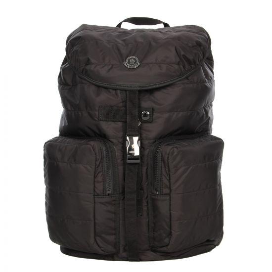 Moncler Quilted Backpack Black