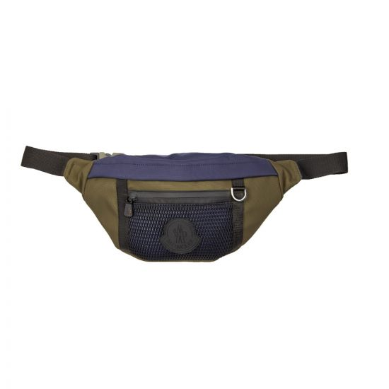 Moncler Theo Pouch 00635 00 01ABP 833 Blue/Olive