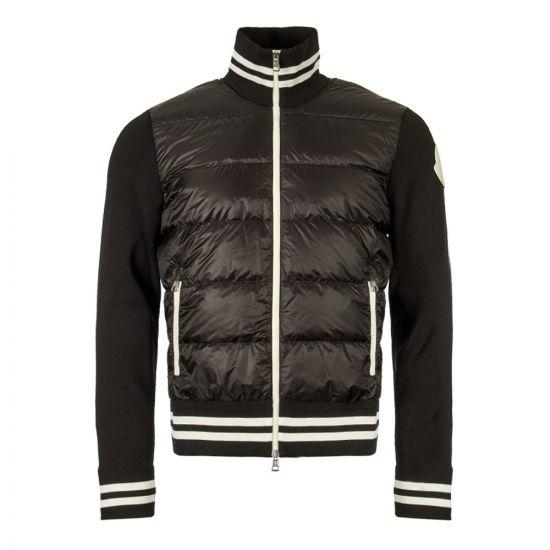 Moncler Zipped Cardigan 94213 00 C9001 999 Black