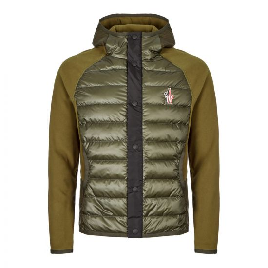 Moncler Hooded Cardigan 84008 00 80093 241 Green