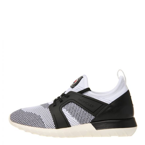 Moncler Emilie Trainers 10141 00 019YE In Black / White