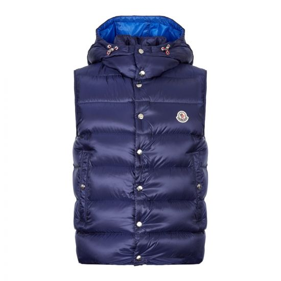 Moncler Gilet Billecart 43386 49 C0084 74H Navy