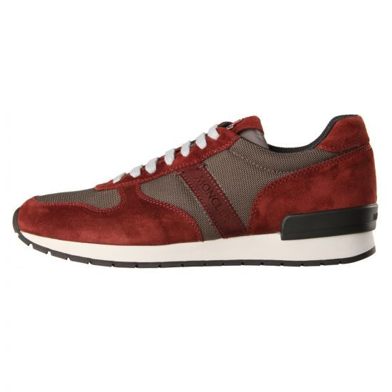 Moncler Trainers Red Montego