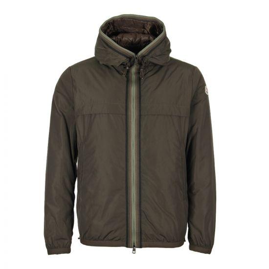 Moncler Nash Hooded Jacket 41941 05 54543 833 In Olive
