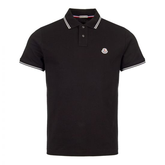 Moncler Polo Shirt 83043 00 84556 999 Black