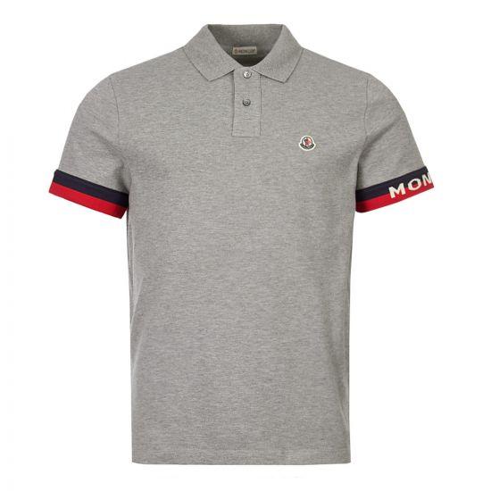 moncler polo shirt 83213 00 84556 984 grey
