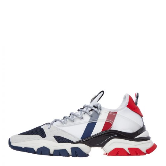 moncler trevor trainers 10405 00 02S16 002 white / red / blue