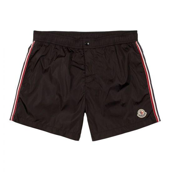 Moncler Swim Shorts 00732 00 53326 999 In Black