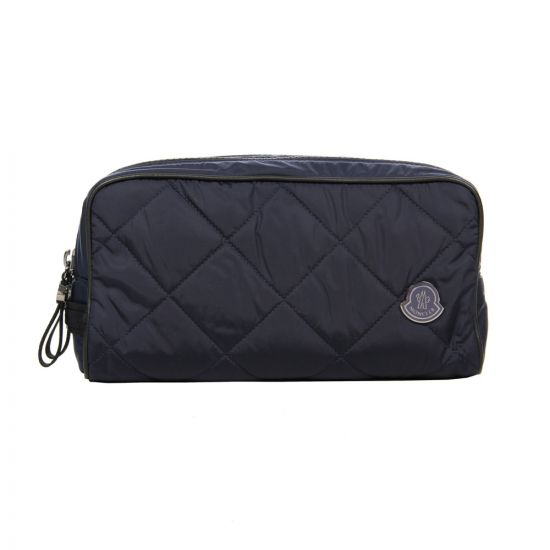 Moncler Toiletry Case in Navy