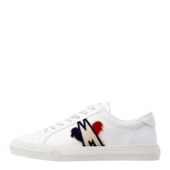 moncler new monaco trainers 10376 00 02S0T 002 white
