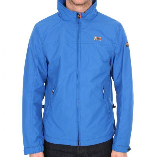 Napapijri Rebel Blue Shelter Jacket
