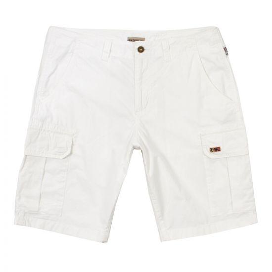 Napapijri Shorts   NOYIJO002 White