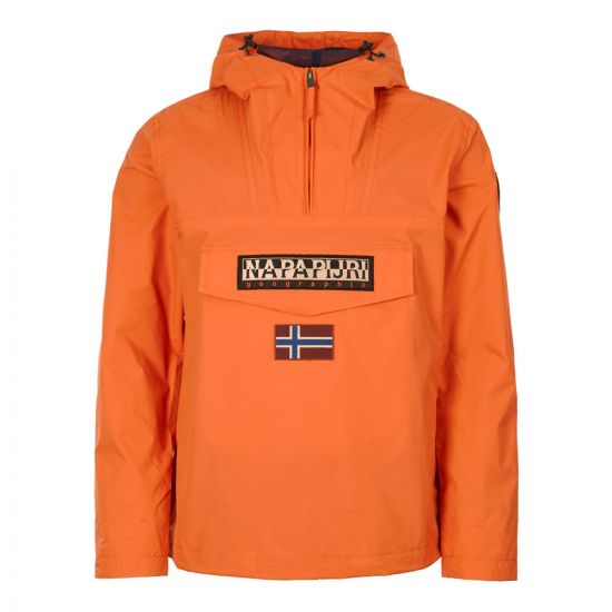 Napapijri Rainforest Jacket | NOYHC0A44 Amber Orange