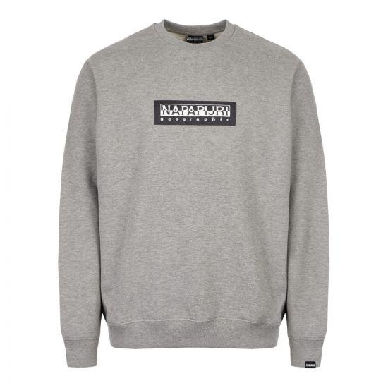 Napapijri Sweatshirt NP000KBU 160 Grey