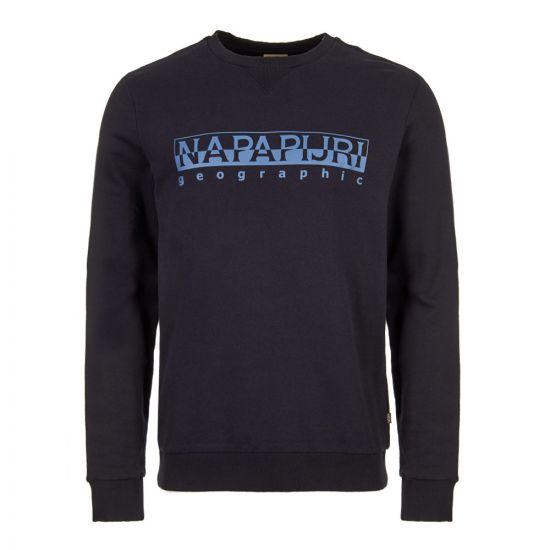 Napapijri Sweatshirt NOY1J8 176 in Navy