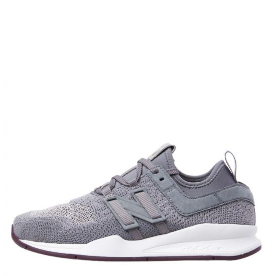 new balance 247 trainers MS247TGS light grey