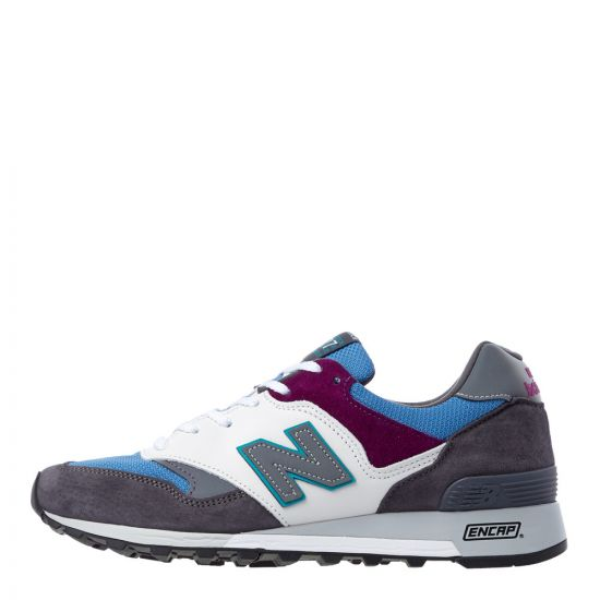 New Balance 577 Trainers M577GBP in Green / Blue / Purple