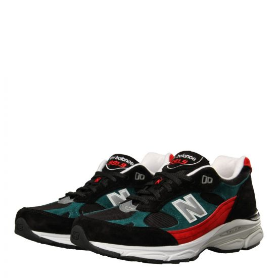 abfff315db New Balance Made in England M991.9 Trainers | M9919SCF Black / Red / G
