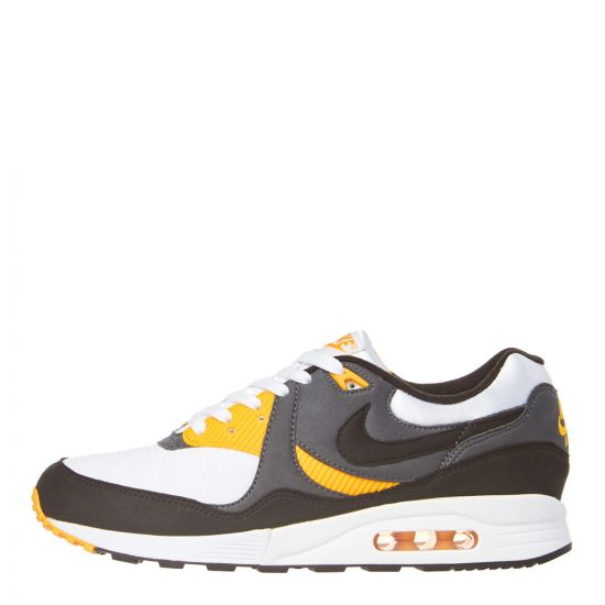 Nike Air Max Light Trainers AO8285 102 Grey / White / Yellow