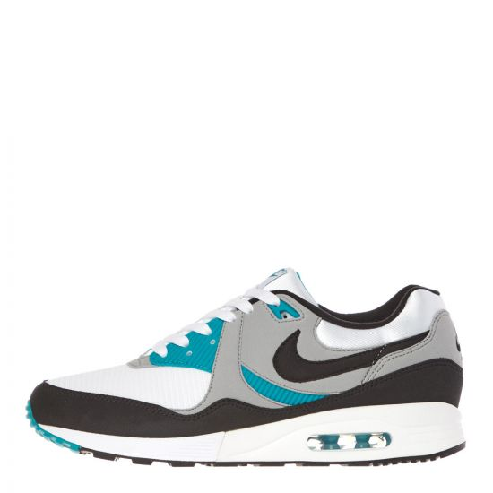 Nike Air Max Light Trainers AO8285 103 Wolf Grey / Spirit Teal