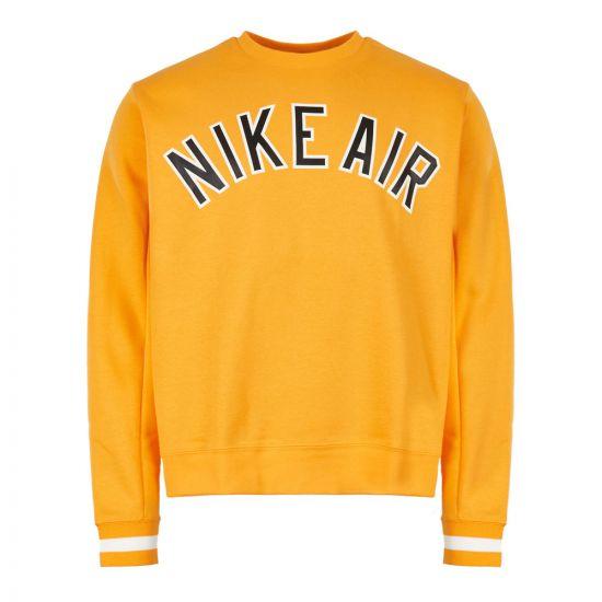 Nike Air Sweatshirt | AR1822 739 University Gold