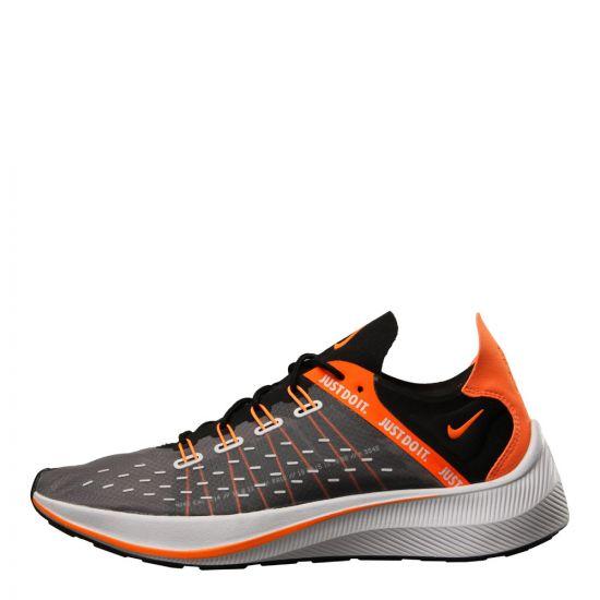 Nike EXP-X14 SE 'Just Do It' Sneakers AO3095-001 in Black / Orange
