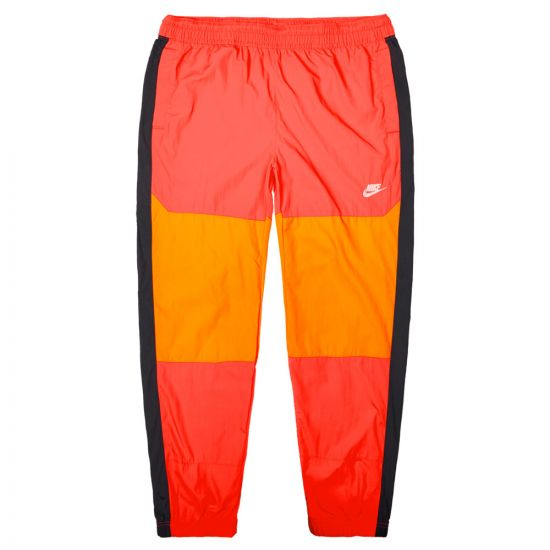 Nike Joggers Re-Issue Woven BV5387 850 Orange / Black / Ceramic