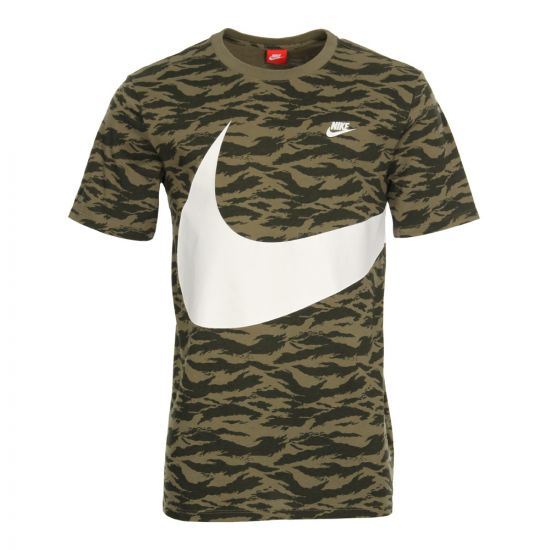 Nike Swoosh T-Shirt AO0861-222 In Green