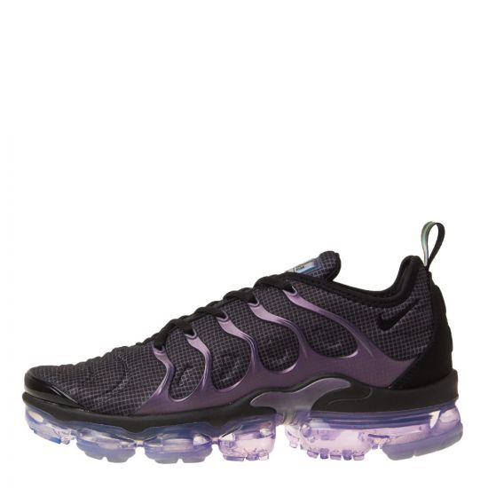 Air VaporMax Plus Trainers - Black / Purple