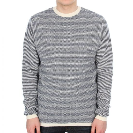 norse projects sigfred jumper - navy