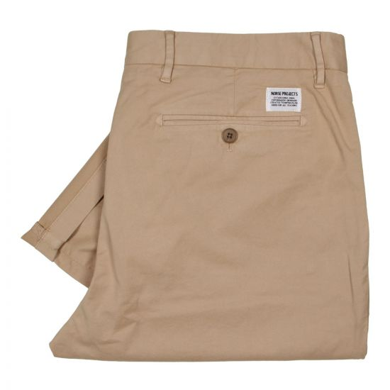 Norse Projects Aros Light Chinos N25-0225-0912 Khaki