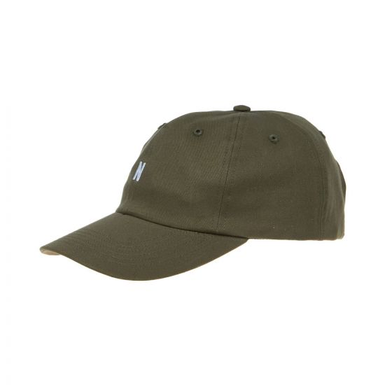 norse projects cap N80 0001 8098 ivy green