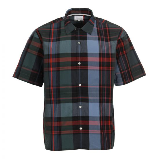 Norse Projects Carsten Check Shirt in Cali Blue N40 0453 7167
