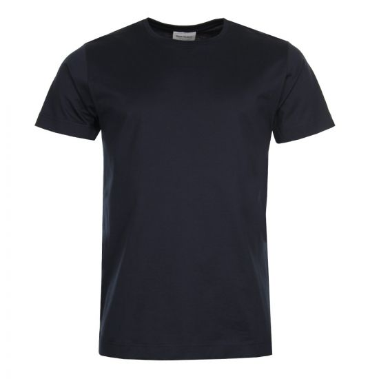 Norse Projects Esben  T Shirt Mercerised T-Shirt N01 0375 7004 Dark Navy