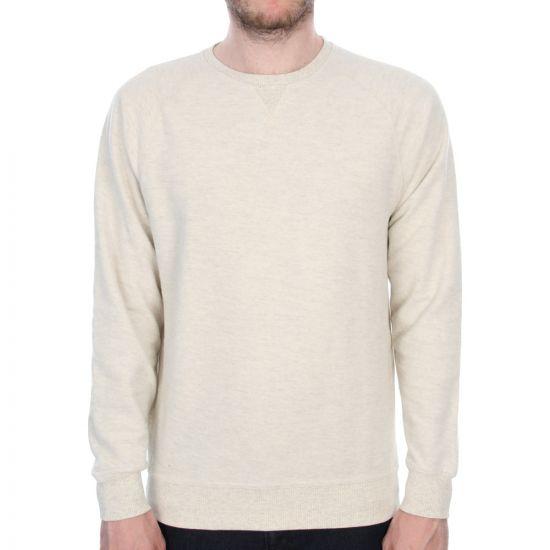 Halfdan Flame Sweater - Birch White