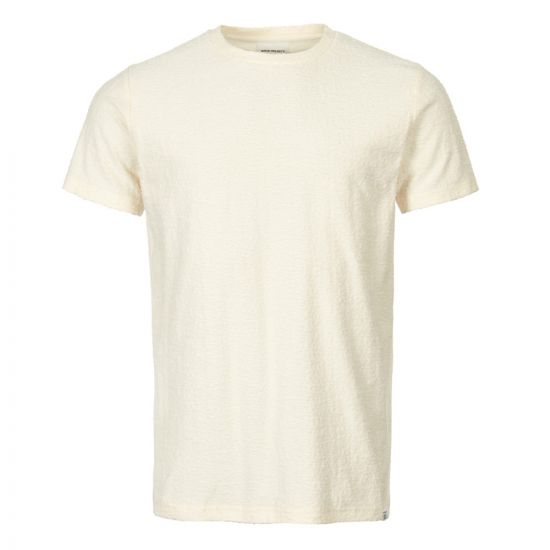 Norse Projects Niels T-Shirt N01 0428 0957 Ecru