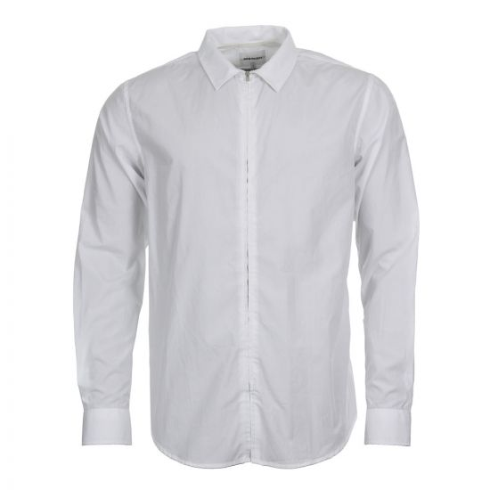 norse projects shirt osvald n40 0367 0001 white